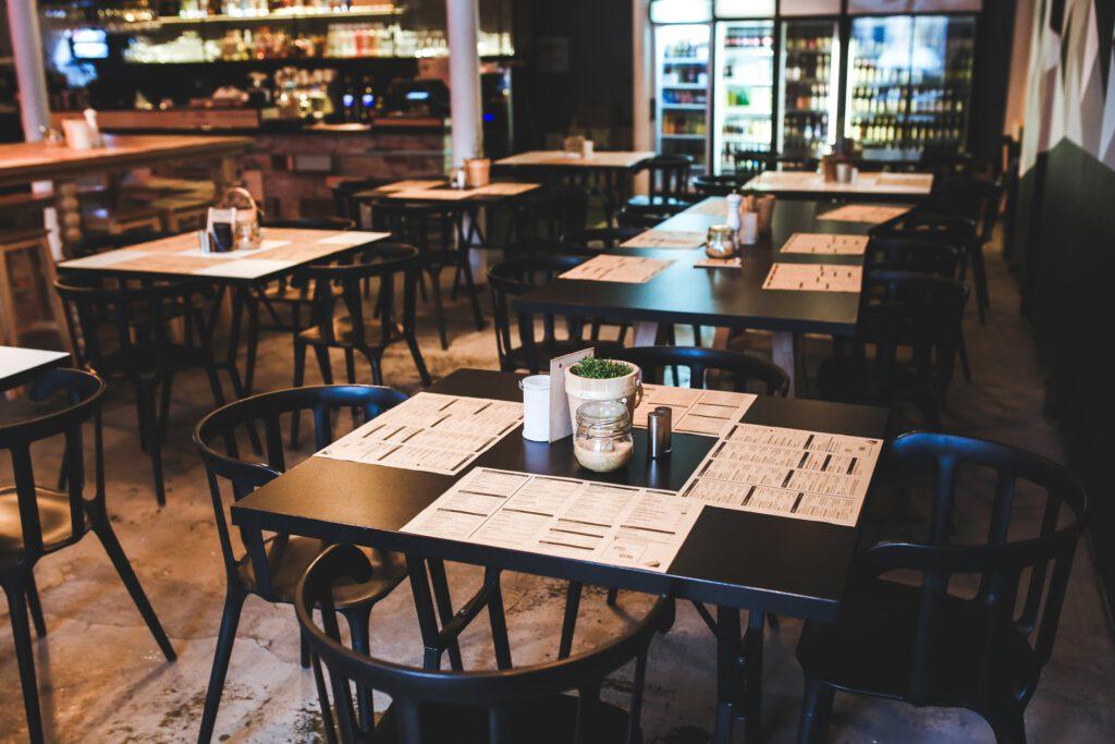 schoonmaak restaurant