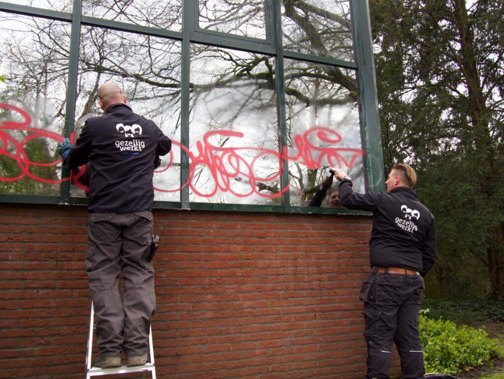 verwijderen graffiti