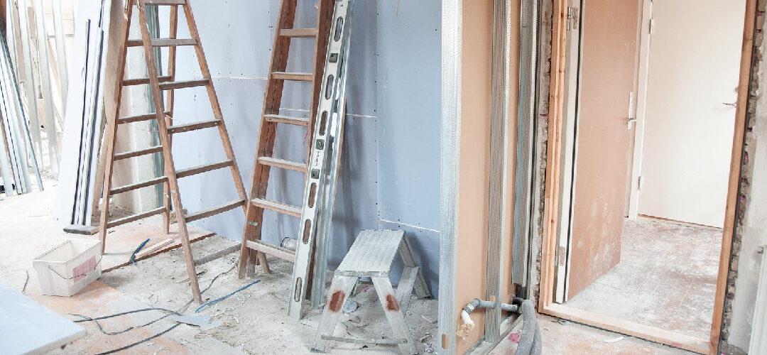 Verbouw schoonmaak en nieuwbouw schoonmaak