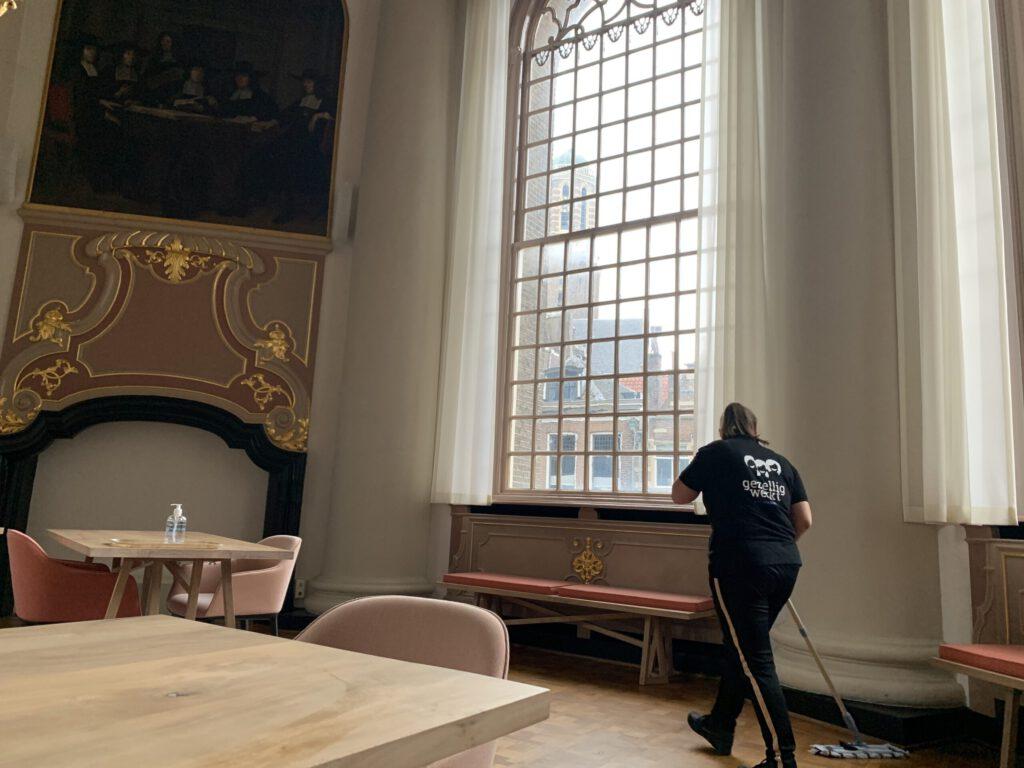 schoonmaak kerken
